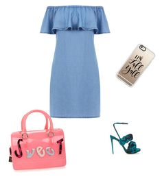 """""""Untitled #26"""" by anghel-sonia ❤ liked on Polyvore featuring Furla, Warehouse, Marco de Vincenzo and Casetify"""