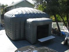 Inflatable tent structures. from instant home theaters to conference centers to post disaster shelter.
