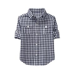 087d3ce2d Embroidered Gingham 1-Piece | Brax | Gingham, Janie, jack, Baby boy ...