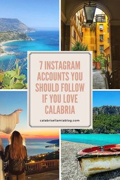 I'm combining two things I love - Instagram and Calabria. If you love these things too, then check out these 7 Instagram accounts that you should be following!