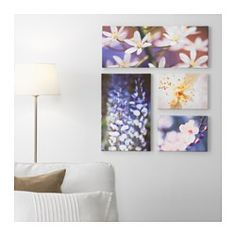 IKEA - GRÖNBY, Picture, set of 4, Motif created by Jo Whitworth, Lupen Grainne and Irene Barbiero.The included collage template and coordinated motifs make it easy to create your own personal wall collage.You can personalize your home with artwork that expresses your style.