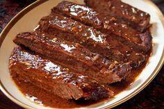 Exotic Food, Sin Gluten, I Love Food, Deli, Meat Recipes, Bbq, Pork, Dinner, Cooking