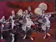 """Rockets - """"Venus Rapsody (sic)"""" (1978).  Les Rockets had an amazing look, but much of their music was more or less typical rock-disco w/ vocoders.  On occasion, however, they did create some really great space/prog music, including this track (which in my opinion, is a perfect match for their image)."""