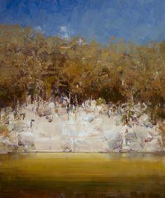 #12422 Ken Knight Lake Jindabyne Foreshores 101cm x 122cm (1-3) $40800.jpg