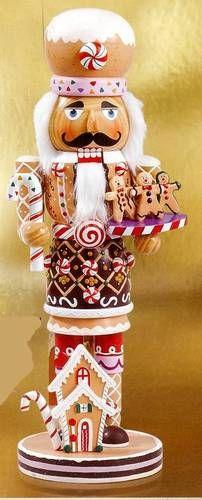 Gingerbread nutcracker!!! Bebe'!!! Adorable Gingerbread Nutcracker!!! Just darling!!!