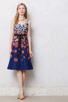 I really wish I had a reason to wear this - Shade Garden Dress - Anthropologie.com