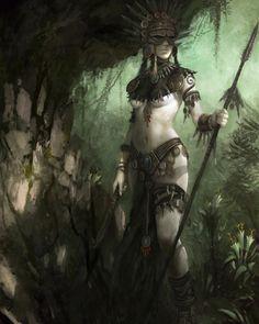 Inspirational Art By Conceptual Artist Daarken   Fantasy Inspiration