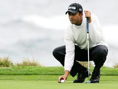 Arjun Atwal slips at Barracuda Champ