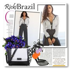 """""""Ricki Brazil 14"""" by fashionmonsters ❤ liked on Polyvore featuring Pierre Hardy and rickibrazil"""