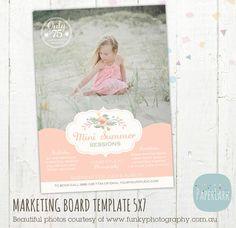 Summer Marketing Board Mini Sessions by PaperLarkDesigns on Etsy