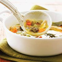 Slow-Cooker Wild Rice Soup