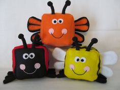 Toy Sewing Pattern Insect collection Make por HeartFeltPatterns
