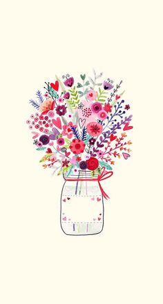 Flowers Wallpaper Desktop Pattern Dresses Ideas For 2019 Frühling Wallpaper, Spring Wallpaper, Flower Wallpaper, Wallpaper Backgrounds, Iphone Hintegründe, Pink Iphone, Iphone Tela, Pink Art, Jolie Photo