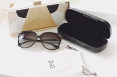 D sunnies with gold detail