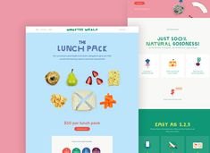 Monster Meals is a startup on a mission to make healthy food fun for school children. School Children, Good Food, Healthy Recipes, Foods, Meals, Projects, Fun, Design, Food Food