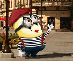 Minion as Mime Amor Minions, Cute Minions, Minion Movie, Minions Despicable Me, Minions Quotes, Minion Stuff, Minions 2014, Happy Minions, Minions Images