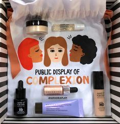 Image result for public display of complexion sephora