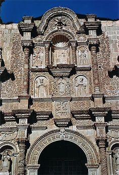 Catedral de Puno, Peru.