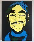 Ashley Martelle Tupac Painting 46x36