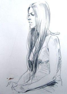 Техника исполнения: бумага, графитный (простой) карандаш. Размер:   Заказать портрет с натуры или по фото, Санкт-Петербург.