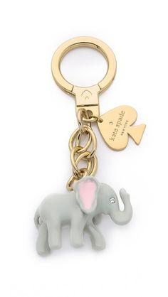Kate Spade New York Elephant Keychain