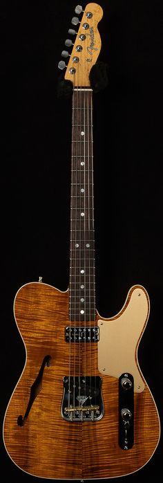 Fender Custom Shop2017 CollectionArtisanCaballo Tono LigeroAAA Koa.82-.99/7.75 lbsNatural