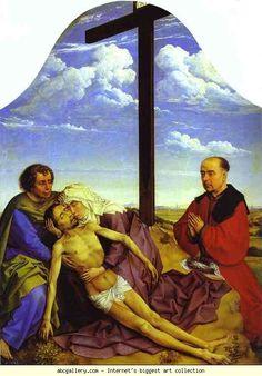 Rogier van der Weyden. Pieta.