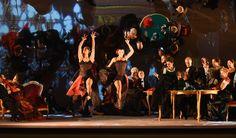 La traviata, Atto II - foto Roberto Ricci