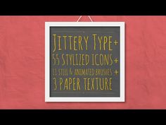 Jittery Type + | After Effects template