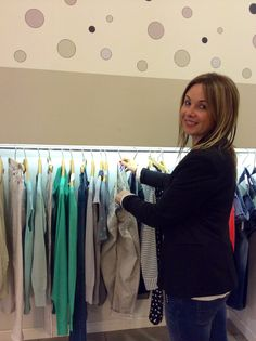 Federica, always ready to pick out your next outfit! stylist @ Spazio del Giò