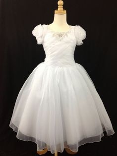 Isabella said yes to the dress!! Christie Helene Communion Dress - P1216 Signature Collection - New 2015 - Ballerina Length Communion dresses - First Communion Dress - Girls