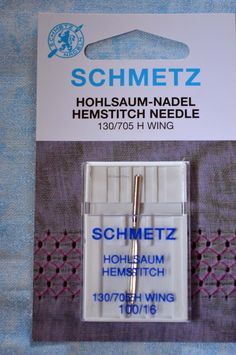 Schmetz, h wing machine needles, 100/16 by TheQuiltedCheese on Etsy