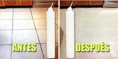 ¡Limpia tu piso usando velas!