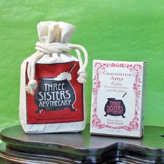 Gravenstein Apple Bar Soap gifted by Soap Cauldron.