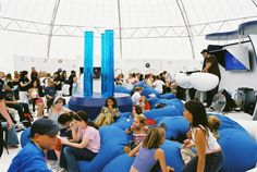 15M #DOME #LOUNGE  #Inflatable #Temporary #Structure #Events http://www.brandinteractivation.com/