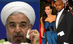 Iranian Judge Orders KimYe to Never Ever be in the News Again - Iron E-News