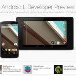 Enlace para probar y descargar Android L Developer Preview - http://www.cleardata.com.ar/internet/enlace-para-probar-y-descargar-android-l-developer-preview.html