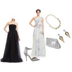 Gourgeous Black & white Dress