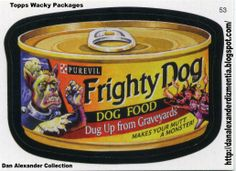 Horror wacky packages | ... And Universal's Halloween Horror Nights, Sponsored By Wacky Packages