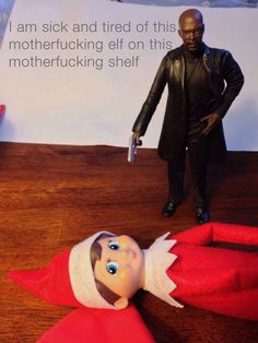 Seriously, elf on the shelf is CREEPY
