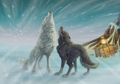 Balto and the white wolf