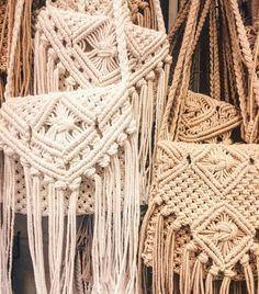 Thinking of making macrame bags : @chulsb in Bali
