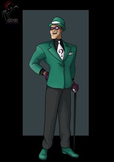 The Riddler - Batman Animated Series by Gary Anderson