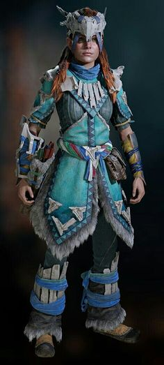 Horizon Zero Dawn Cosplay, Advance Wars, Horizon Zero Dawn Aloy, Gaming Center, Female Armor, V Games, Fairytale Fashion, Viking Warrior, Cosplay Costumes