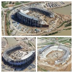 Latest aerial shots of #Baylor Stadium. // via BUFootball on Twitter, Oct. 23, 2013 #SicEm