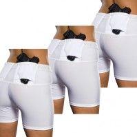 UnderTech Undercover Women's Concealment Shorts - 3 Pack SETS