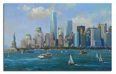 New York Rising by Alexander Chen