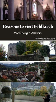 Reasons-to-visit #Feldkirch #Austria #TheWingedFork