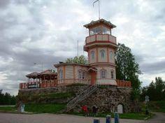 Cafe Observatory / Tähtitornin kahvila, Oulu, Finland - Helsinki, Denmark, Norway, Sweden, Parks, Places To Go, Buildings, Wanderlust, Europe