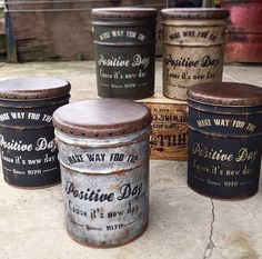 1 million+ Stunning Free Images to Use Anywhere Recycle Cans, Diy Cans, Tin Can Crafts, Diy And Crafts, Oil Barrel, Scary Halloween Decorations, Diy Bottle, Antique Paint, Succulent Pots
